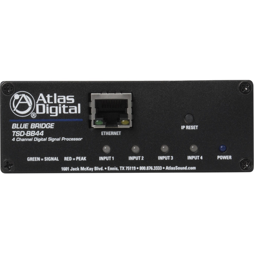Atlas Sound 4 Input x 4 Output - Networkable DSP Device