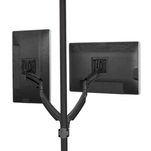 Chief KONTOUR K1P220B Pole Mount for Flat Panel Display - Black