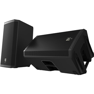 Electro-Voice ZLX-15 2-way Speaker - 250 W RMS - Black
