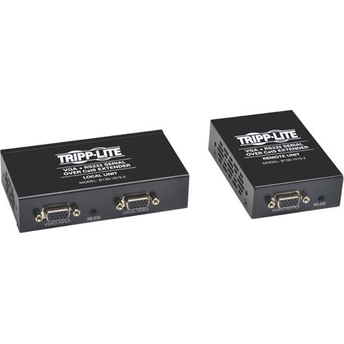 VGA W/RS232 OVER CAT5/CAT6   EXTENDER/TRANSMITTER/RECEIVER EDID