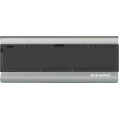 Honeywell Wirelss Premium Portable converter/extender/bell push - landscape (horizontal) - Charcoal/Silver. Chime Compatibility: E. CR2032 battery included.