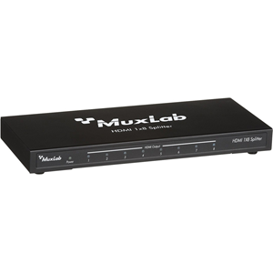 MuxLab HDMI 1x8 Splitter, 2K-4K