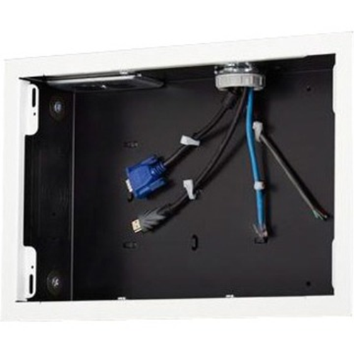 Chief PAC525FW Mounting Box for Flat Panel Display, Surge Protector, Power Conditioner, A/V Equipment - White