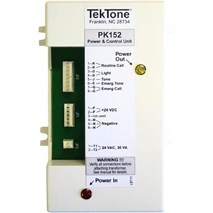 POWER & CONTROL UNIT FOR NC110, NC150, NC200