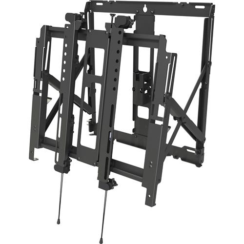 Peerless-AV DS-VW755S Wall Mount for Flat Panel Display - Black