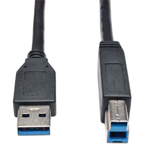 Tripp Lite 15ft USB 3.0 SuperSpeed Device Cable 5 Gbps A Male to B Male Black