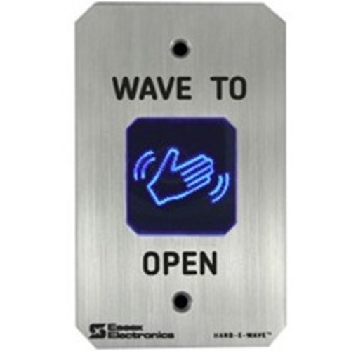 HAND-E-WAVE STAINLESS TOUCHLESS SWITCH,SINGLE GANG