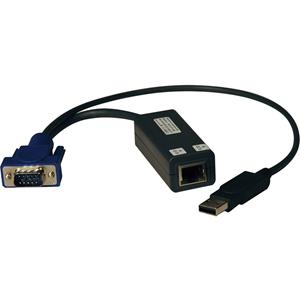 Tripp Lite KVM Switch USB Server Interface Unit HD15 USB RJ45 8 Pack TAA
