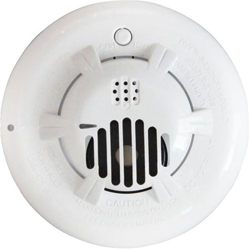 2GIG Wireless Carbon Monoxide Detector - Electrochemical - Gas Detection - Wall Mount, Ceiling Mount - White