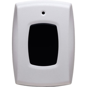 2GIG Panic Button Remote - White, Gray - ABS Plastic