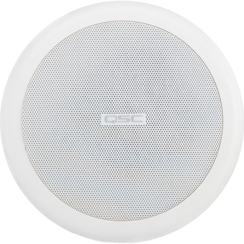 QSC AcousticCoverage AC-C4T Ceiling Mountable Speaker - 16 W RMS