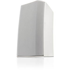 QSC AcousticDesign AD-S6T 2-way Indoor/Outdoor Surface Mount Speaker - 150 W RMS - White