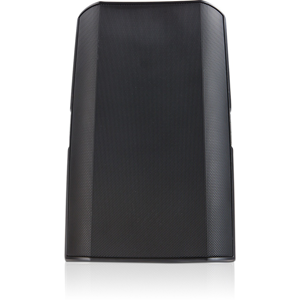 QSC AcousticDesign AD-S10T 2-way Indoor/Outdoor Surface Mount Speaker - 250 W RMS - Black