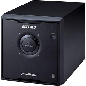 BUFFALO DriveStation Quad USB 3.0 4-Drive 8 TB Desktop DAS (HD-QH8TU3R5)