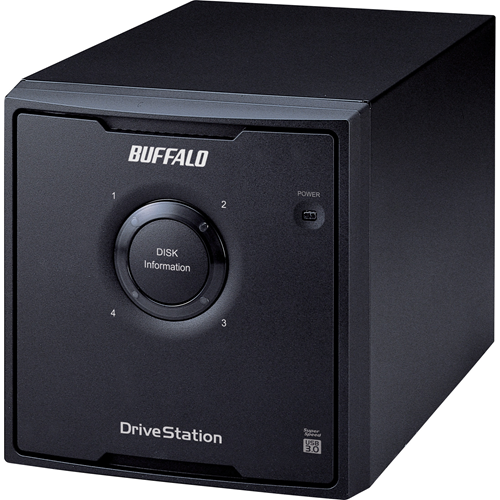 12TB DRIVESTATION QUAD USB 3.0 4X3TB HARD DRIVE RAID ARRAY