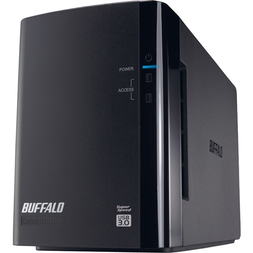 6TB DRIVESTATION DUO USB 3.0  2X3TB HARD DRIVE RAID ARRAY