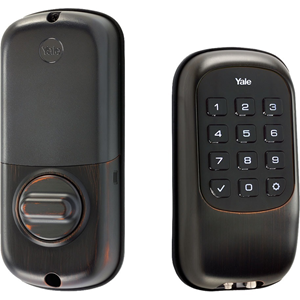 Yale YRD110 Push Button Deadbolt B1L with Z-Wave