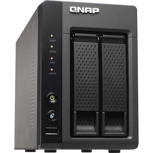 QNAP 6TB DESKTOP ISCSI 2BAY SOC, RAW 6TB