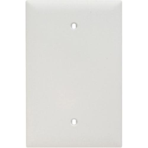 Pass & Seymour Trademaster Jumbo Blank Wall Plate, White (M20)