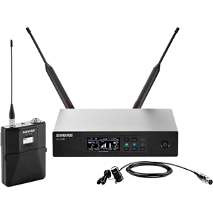 QLXD14 LAVALIER WRLS MIC SYS/WL185/G50