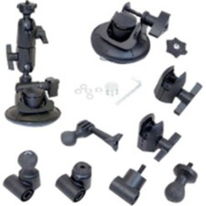 3-N-1 SUCTION CUP CAMERA MOUNT KIT