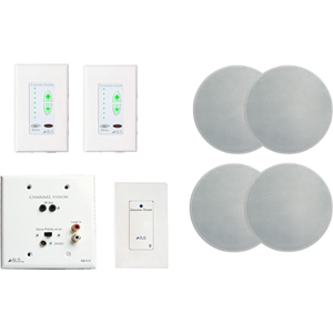 A-BUS 2 RM KIT W/BLUETOOTH SOURCE & 2 PR IN-CEILIN