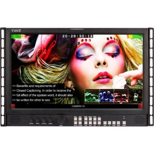 "ViewZ Broadcast VZ-185RM-P 18.5"" XGA LED LCD Monitor - 16:9"