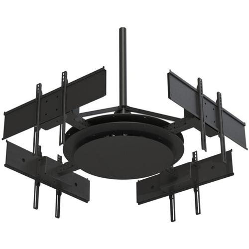 Peerless-AV DST975-4 Ceiling Mount for Flat Panel Display - Black