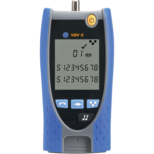 VDV II BASIC TESTER BASIC WIREMAP WITH REMOTE