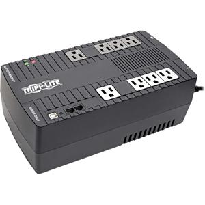 Tripp Lite UPS 650VA 325W Desktop Battery Back Up AVR Compact 120V USB Muted Alarm