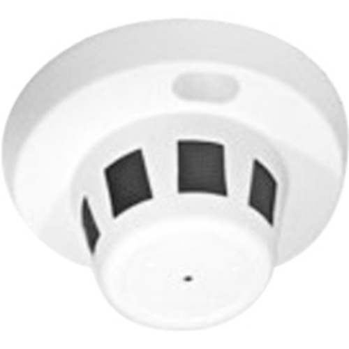 SWSD-420BA Smoke Detector Covert Color Camera with Adjustable Side View