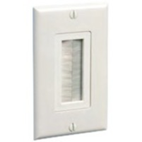 Arlington Entry Device (Brush Cover) w/ Wall Plate