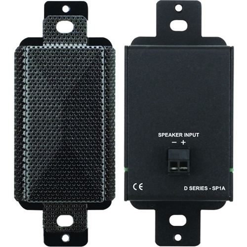 RDL DB-SP1A Surface Mount, Desktop, Wall Mountable Speaker - 2 W RMS - Black