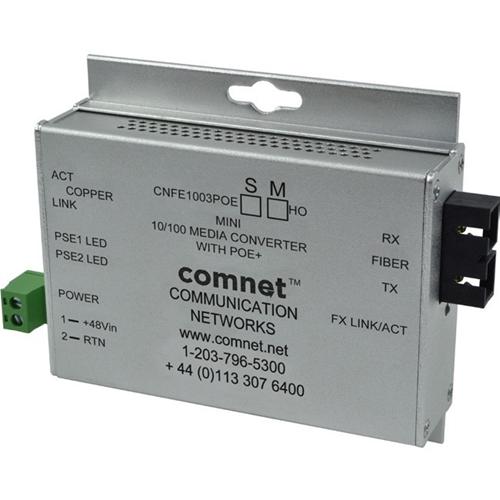 ComNet CNFE1004BPOESHO/M Transceiver/Media Converter