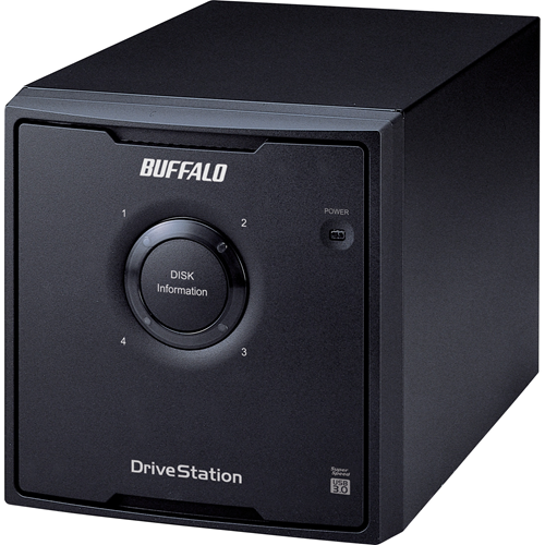 DRIVESTATION QUAD 24TB USB 3.0 4X6TB HARD DRIVE RAID ARRAY