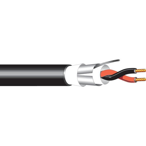 4 COND 18 AWG DIRECT BURIAL CABLE BLACK