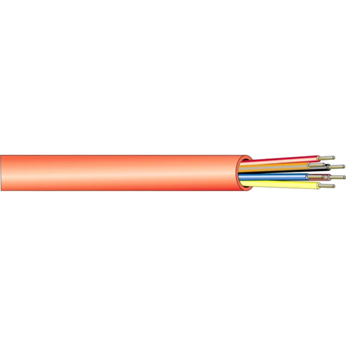 4 CONDUCTOR 14 GAUGE SOL UNSHLD FIRE PVC