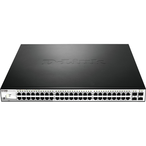 52PORT GIGABIT WEBSMART POE SWITCH INCLUDING 4SFP PORTS