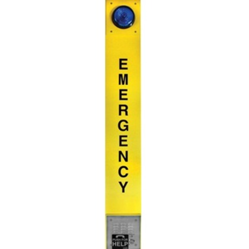 VOIP YELLOW EMERGENCY TOWER PHONE