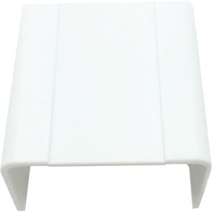 """W Box 1-1/4"""" X 3/4"""" Joint Cover White 4 Pack"""