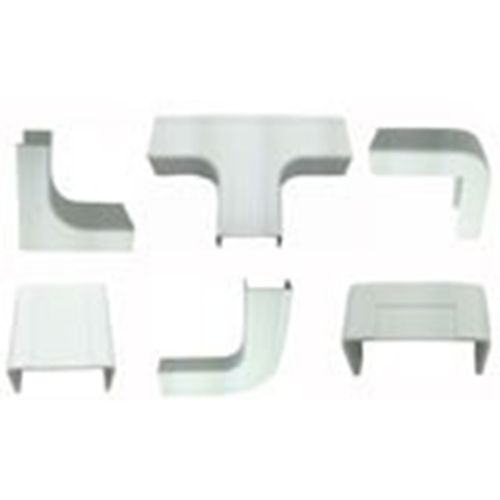 """W Box 3/4"""" X 1/2"""" Combo Pack White (2 each of all connectors except drop ceiling)"""