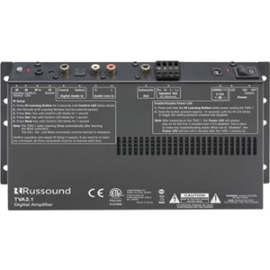 2-CHANNEL TV AMP W/ SUB OUT