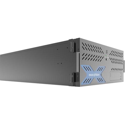 HYBRID 20TB 4U RECORDER W/ 8IP CAM LICS 64MAX & 64ANALOG AT 30FPS