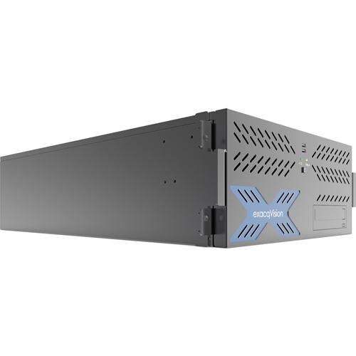 HYBRID 16TB 4U RECORDER W/ 8IP CAM LICS 64MAX & 16ANALOG AT 30FPS