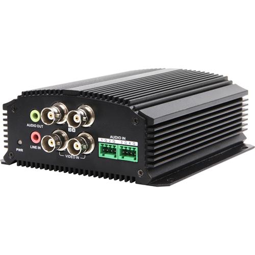 VID SRVR 4CH H264 DUAL STRM 960H-30FPS