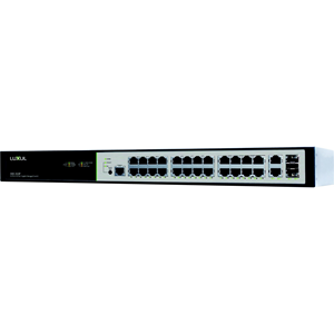 Luxul 26 Port/24 PoE+ Gigabit Managed Switch