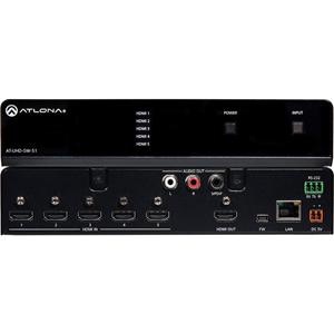 Atlona 4K/UHD Five-Input HDMI Switcher
