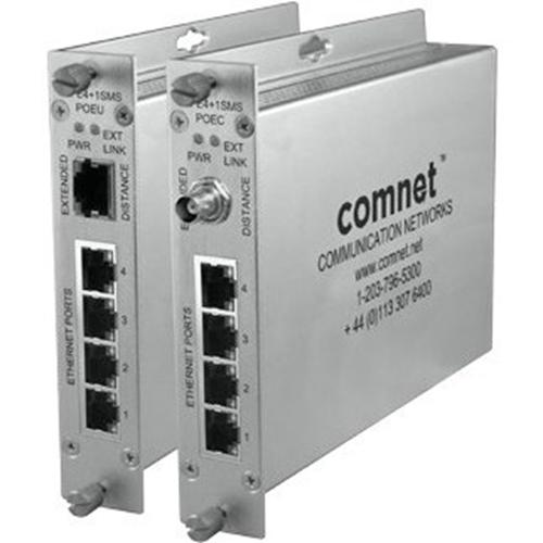 ComNet CopperLine CLFE4+1SMSPOEC Ethernet Switch