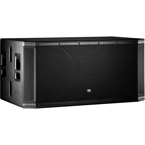 JBL Professional SRX828SP Portable Subwoofer System - 1500 W RMS - Transparent Black