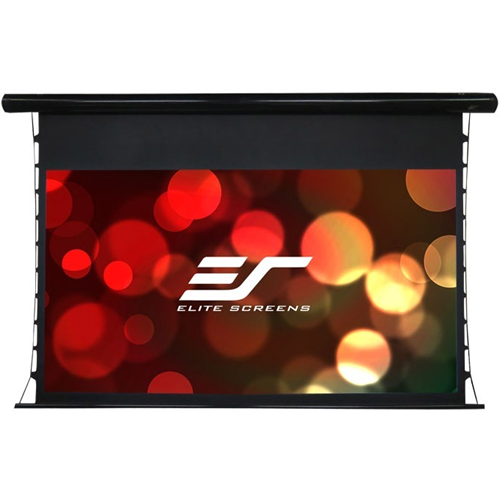 110' PREMIUM ELECTRIC, TENSIONED, MOTORIZED SCREEN